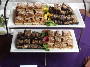 Apricot Bars & Seven Layer Sin Bars