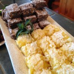 German Chocolate Brownies & Lemon Coconut Bars