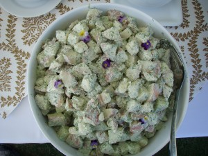 Lemon Dill Potato Salad