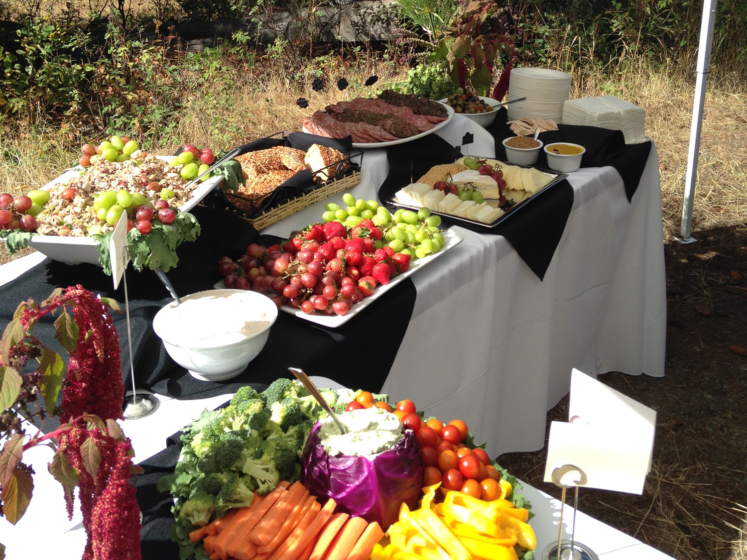 Outdoor Buffet The Simple Chef Catering